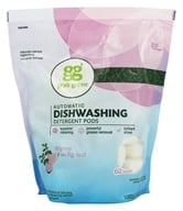 GrabGreen - Automatic Dishwashing Detergent 60 Loads Biggie Pouch Thyme with Fig Leaf - 36 oz.