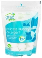 GrabGreen - Delicate Laundry Detergent 24 Loads Fragrance Free - 8.4 oz.