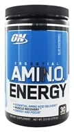 Optimum Nutrition - Essential AmiN.O. Energy Blue Raspberry 30 Servings - 9.5 oz.