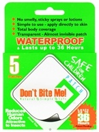 Don't Bite Me - Insect Repellent Patch - 5 Patch(es) by Don't Bite Me