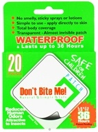 Don't Bite Me - Insect Repellent Patch - 20 Patch(es) by Don't Bite Me