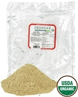 Image of Frontier Natural Products - Broth Powder Vegetable Flavored Low Sodium Organic - 1 lb.