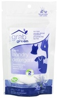 GrabGreen - 3-in-1 Laundry Detergent 2 Loads Mini Pouch Lavender with Vanilla - 1.27 oz.