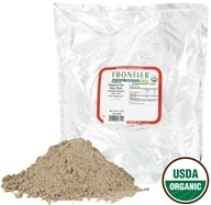 Image of Frontier Natural Products - Slippery Elm Bark Powder Organic - 1 lb.