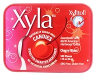 Xylitol USA - Xyla Naturally Sugar Free Candies Cherry Blast - 100 Piece(s)
