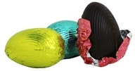 Sjaak's Organic Chocolate - Peanut Butter Easter Eggs Vegan Dark Chocolate - 3 Count