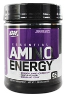 Optimum Nutrition - Essential Amino Energy 65 Servings Concord Grape - 1.29 lbs., from category: Sports Nutrition