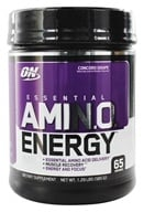 Optimum Nutrition - Essential Amino Energy 65 Servings Concord Grape - 1.29 lbs. - $39.98