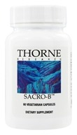 Thorne Research - Sacro-B 250 mg. - 60 Vegetarian Capsules (693749757030)