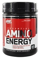 Image of Optimum Nutrition - Essential Amino Energy 65 Servings Fruit Fusion - 1.29 lbs.