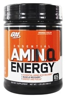 Optimum Nutrition - Essential Amino Energy 65 Servings Orange Cooler - 1.29 lbs. (748927022902)