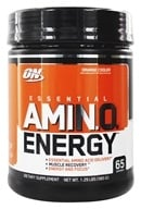 Optimum Nutrition - Essential AmiN.O. Energy Orange Cooler 65 Servings - 1.29 lbs.
