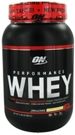 Optimum Nutrition - Performance Whey 25 Servings Vanilla Shake - 2.09 lbs. (748927023978)