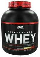 Optimum Nutrition - Performance Whey 50 Servings Vanilla Shake - 4.19 lbs. (748927024401)