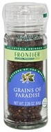 Frontier Natural Products - Grains of Paradise Seed - 2.26 oz., from category: Health Foods