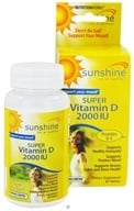 Image of NutritionWorks - Sunshine Super Vitamin D 2000 IU - 60 Tablets