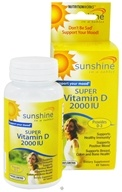NutritionWorks - Sunshine Super Vitamin D 2000 IU - 60 Tablets - $6.99
