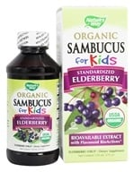 Nature's Way - Organic Sambucus for Kids Syrup Elderberry - 4 oz., from category: Herbs