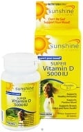NutritionWorks - Sunshine Super Vitamin D 5000 IU - 30 Tablets, from category: Vitamins & Minerals