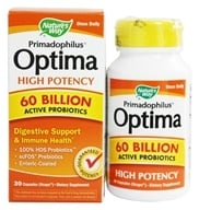 Nature's Way - Primadophilus Optima High Potency 60 Billion Active Probiotics - 30 Capsules, from category: Nutritional Supplements