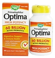 Nature's Way - Primadophilus Optima High Potency 60 Billion Active Probiotics - 30 Capsules (033674157831)