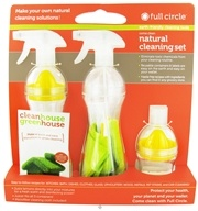 Full Circle - Come Clean Natural Cleaning Set, from category: Housewares & Cleaning Aids