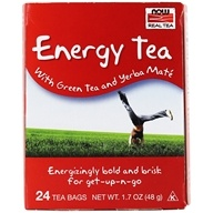 NOW Foods - Full Tilt Energy Tea Blend - 24 Tea Bags (733739042248)