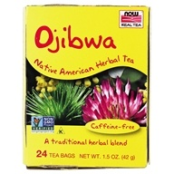Image of NOW Foods - Ojibwa Herbal Cleansing Tea - 24 Tea Bags