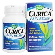 Nature's Way - Curica Pain Relief with Meriva - 100 Tablets (033674157824)