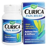 Nature's Way - Curica Pain Relief with Meriva - 100 Tablets by Nature's Way