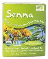 NOW Foods - Relief For Occasional Constipation Senna Tea - 24 Tea Bags