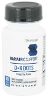 Twinlab - Bariatric Support D+K Dots Tangerine - 60 Mini-Tab(s) by Twinlab