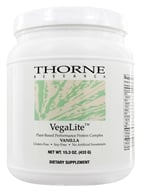 Image of Thorne Research - VegaLite Plant Based Performance Protein Complex Vanilla - 15.2 oz.