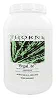 Thorne Research - VegaLite Plant Based Performance Protein Complex Chocolate - 34.3 oz., from category: Professional Supplements