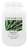 Image of Thorne Research - VegaLite Plant Based Performance Protein Complex Chocolate - 34.3 oz.