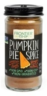Frontier Natural Products - Pumpkin Pie Spice Salt-Free Blend - 1.92 oz. (089836183941)
