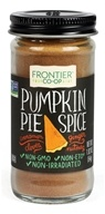 Frontier Natural Products - Pumpkin Pie Spice Salt-Free Blend - 1.92 oz.
