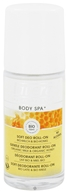 Lavera - Body Spa Deodorant Gentle Roll-On Organic Milk & Honey - 1.6 oz.