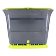 Image of Full Circle - Fresh Air Kitchen Compost Collector Green Slate