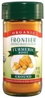Image of Frontier Natural Products - Turmeric Root Ground Organic - 1.41 oz.