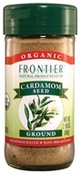 Frontier Natural Products - Cardamom Seed Ground Organic - 2.08 oz. by Frontier Natural Products