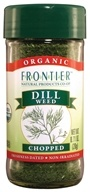 Frontier Natural Products - Dill Weed Cut & Sifted Organic - 0.71 oz.