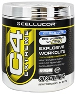 Cellucor - C4 Extreme Pre-Workout with NO3 Icy Blue Raspberry 30 Servings - 180 Grams (632964301031)