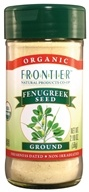 Frontier Natural Products - Fenugreek Seed Ground Organic - 2 oz. - $4.08