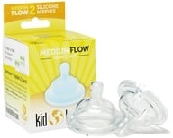 Klean Kanteen - Kid Kanteen Silicone Nipple Medium Flow - 2 Pack CLEARANCE PRICED, from category: Baby & Child Health