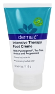 Derma-E - Intensive Therapy Foot Creme - 4 oz.