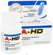 BPI Sports - A-HD Ultra-Concentrated Testosterone Booster 250 mg. - 28 Capsules