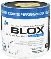 Image of BPI Sports - Blox Silk Amino Acid Building Blocks - 30 Servings Blue Raspberry - 150 Grams