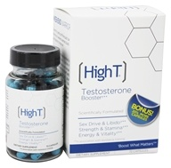 High T - All Natural Testosterone Booster - 72 Capsules by High T