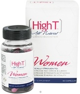 High T - All Natural Libido Booster for Women - 60 Capsules